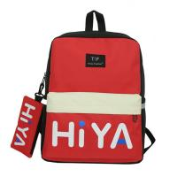 Cheap Schoolbag female Korean version of high school students backpacks large capacity backpacks male street photo trend wholesale