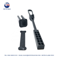 Buy cheap FTTH Accessories Plastic Drop ISO Wire Tension Clamp from wholesalers
