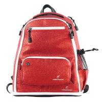 Cheap 2020 Red Fashion Womens Sports Backpack , Glitter Cheer Backpack Soft Handle wholesale