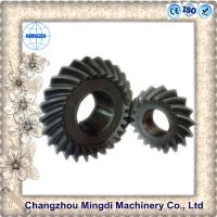 China Customized Rear Axle Differential Spiral Bevel Gear For Motorcycle Wheels on sale