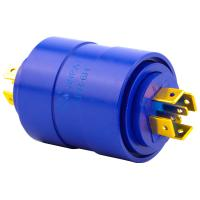Cheap 6 Circuits Slip Ring Brushless Pin Connection with 0-300rpm Operating Speed for Medical Use wholesale