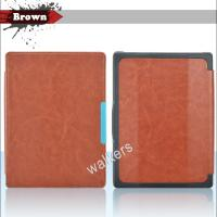 Cheap Magnetic Ultra Slim Kobo Ereader Leather Case Sleeve With Hard Back Shell wholesale