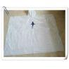 Disposable White PE Poncho