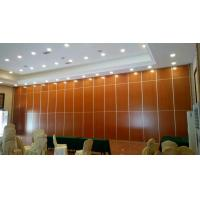 Cheap Aluminium Profile Floor To Ceiling Movable Partition Wall Soundproof Sliding Partition wholesale