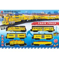 China ABS Plastic Classic Battery Operated Train Track Set W / Lights Sound on sale