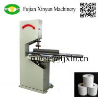 Cheap Low price semi automatic toilet paper and kitchen towel paper band saw cutting machine wholesale