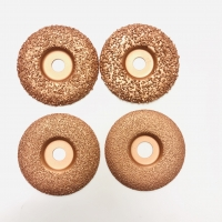 Cheap 4 Inch Vacuum Brazed Tungsten Carbide Grinding Disc wholesale