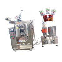 Cheap Multiple Materials Sauce Filling Equipment With PLC Controller , Bright Color wholesale