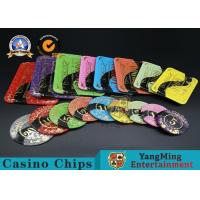 Cheap Casino Printable Acrylic Ultimate Poker Chips Jeton Diameter 81 * 56 / 94 * 66mm wholesale