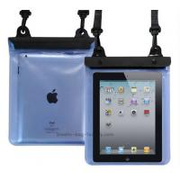 Cheap Transparent Waterproof Pouch Bag TPU / PVC Materials 100% Sealed For Ipad wholesale