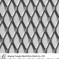 Cheap Expanded Metal Sheet With Micron Opening 1.5x2mm Flattened and Raised Surface wholesale
