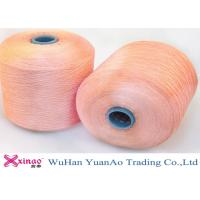Multi Color Polyester Ring Spun Yarn And Colored Yarn Heat Set for Sewing Thread
