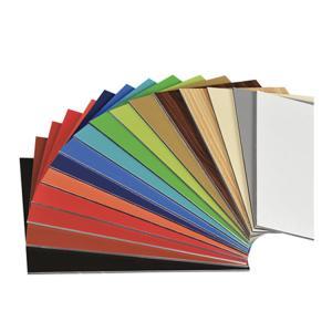 Cheap Outdoor / Indoor PVDF Aluminum Composite Panel Sheet Wooden Color For Park wholesale