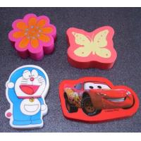 Cheap full color printed promotional gift eraser, customized eraser wholesale