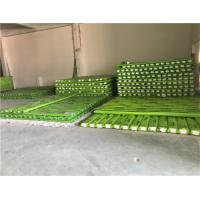 Cheap Reinforced PPR Fiberglass Composite Pipe Green Color With Hot Melting Connection wholesale