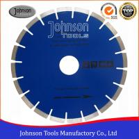 Cheap Fast Speed Diamond Stone Cutting Blades With Blue / Clear Color wholesale