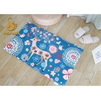 Customized Logo Outdoor Floor Rugs For Home / Hotel Lobby / Restaurant