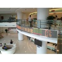 Cheap Indoor P10mmDot Matrix Tri Color Led Display Modules For Advertising Media wholesale