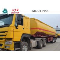 Buy cheap 40 Tons Tri Axle Oil / Fuel Tanker Trailer With Spring Suspension For Malawi from wholesalers