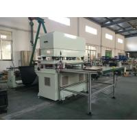 China foam cutting machine cut from roll to sheet with cutting die on sale