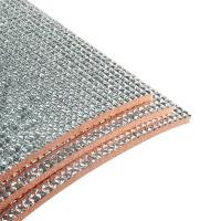 Cheap Dust Free Self Adhesive Insulation Foam Fireproof Material 0.5-60MM Thickness wholesale