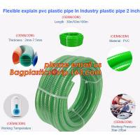 China Flexible explain pvc plastic pipe In Industry plastic pipe 2 inch on sale