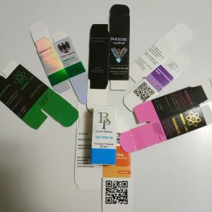 Cheap Custom Small Hologram Paper 10ml Vial Box For Steriod Pharma Medicine wholesale
