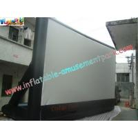 Cheap Portable Outdoor Inflatable Movie Screen Rental / Movie Theater Screen wholesale