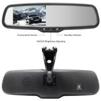 """Buy cheap 4.3"""" LCD Car Rear View Mirror Monitor 285*85*30mm Dimension With Bracket #1 from wholesalers"""