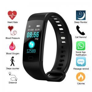 Cheap Muti Language Bluetooth Smart Bracelet , Smart Fitness Bluetooth Bracelet For Step Counter wholesale
