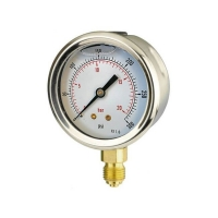 Cheap 100mm Bottom-Entry Pressure Gauge wholesale