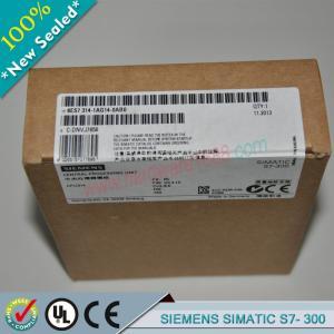 Cheap SIEMENS SIMATIC S7-300 6ES7314-1AG14-0AB0 / 6ES73141AG140AB0 wholesale