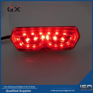 Buy cheap MSX125 rear light Honda brake lamp with steering light function Honda motorcycle modified LED rear light from wholesalers