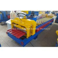 Roofing Glazed Tile Roll Forming Machine Light Weight High Strengt