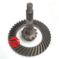 Cheap MITSUBISHI Transmission Crown And Pinion Gear , Spiral Bevel Gear Set wholesale