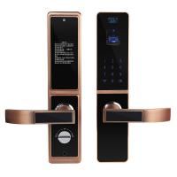 Cheap Bilateral Optical Finger Vein Recognition Highly Secured Biometric Smart Door Lock wholesale