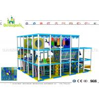 Cheap Indoor Soft Baby Play Centre , Custom Made Indoor Jungle Gym For Toddlers wholesale
