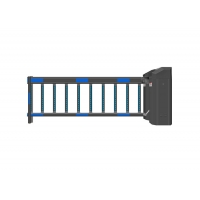 Buy cheap Body Height 6m Arm IP44 Automatic Barrier Systems 250W from wholesalers