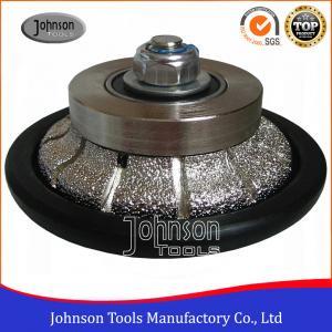 Cheap Johnson Tools No.6 Granite Hand Profile Wheel , Vacuum Brazed Diamond Profile Wheel wholesale