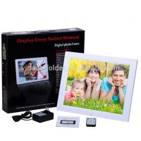 Cheap OEM ODM service souvenir wifi touch android 10 inch digital photo frame support video loop play wholesale