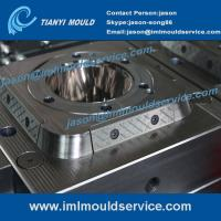 Cheap plastic sweet packaging containers mould-iml system mould, 500ml iml label container mold wholesale