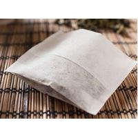 Cheap 100pcs 7*8.5cm food grade non-woven fold tea bag wholesale