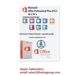 Хорошее качество Коды 2013 продукта офиса Майкрософт профессионала Visio кл