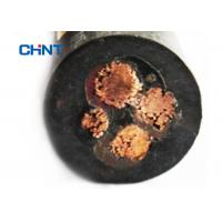 Cheap Black Jacket Rubber Insulated Flexible Cable Excellent Electrical Properties wholesale