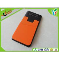 Cheap Flexible Custom Cell Phone Silicone Cases Green / Orange Fashionable wholesale