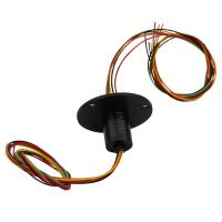 Cheap 6 Circuits Small Slip Ring With Stable Performance And Signal Transmission For Swivel Table wholesale