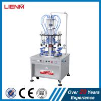 Cheap Pneumatic vacuum small/big perfume bottle filling and crimping machine and collaring machine wholesale