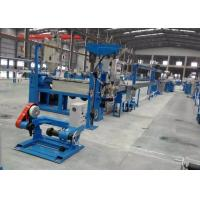 Cheap Fast Speed Cable Extrusion Line With Pvc Wire Extruder / Charging Machine wholesale