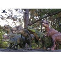 Cheap Attractive Robotic Life Size Dinosaur Statues With Dinosaur Alive Roaring Sound wholesale
