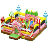 Cheap Candy House Indoor Bouncy Castle Playground Combo Games Commercial Grade wholesale